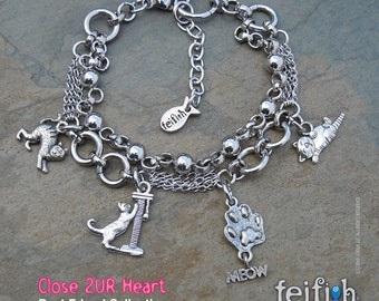 Close 2 UR Heart - Meow Bracelet;Scary Cat;Scratching Post;Cat Meow