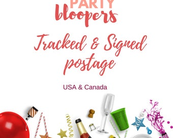Tracked & Signed Postage - Upgrade - USA and Canada