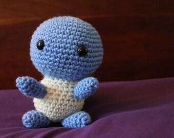 Crochet Chibi Squirtle Pokemon Plushie