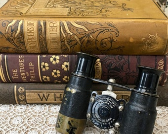Little Pair of Vintage Wollensack Biascope Binoculars