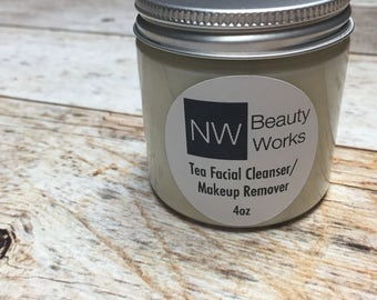 Tea Facial Cleanser & Makeup Remover | Customize w/ an essential oil! | 4 OZ