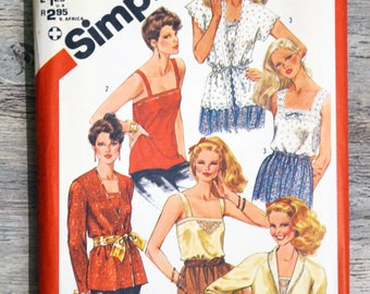 Pouch pattern Simplicity 5352 - high fashion Lady (Vintage)