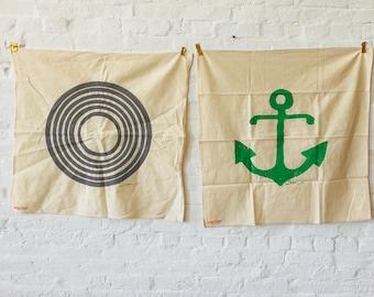 SALE Tea Towels  / Set of 2 Tea towels / RANDOM MIX