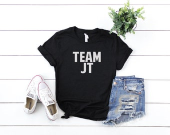 Justin Timberlake Shirt, FREE SHIPPNG Team Jt Justin Timberlake Shirt, Nsync, Mama, Justin Timberlake, Nsync, JT, Man of the Woods
