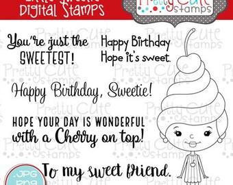 Little Sweetie DIGITAL Stamp Set