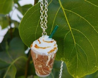 season necklace caramel whipped cream