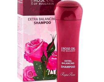 Extra-balancing Shampoo Regina Floris, with Bulgarian Rose oil