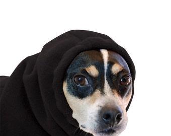 RAT TERRIER Dog Hood, Dog Hat, Dog Snood, Fleece Hat, Dog Neck Warmer, Dog Ear Warmer, Winter Hat, Dog Accessories, Dog Clothing, Hoodie