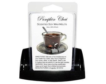 PUMPKIN CHAI // Wax Tarts // Soy Tarts // Candle Tarts // Melting Tarts // Scented Tarts