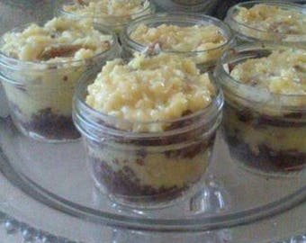 German Chocolate Cake 'In a Jar'