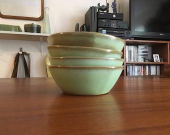 Frankoma SX cereal bowls, set of 4