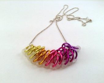 25 Big Stitch Marker Necklace