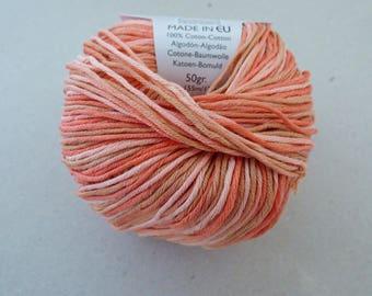 Cotton Natura Spring 410 clementine