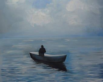 Ocean Art _ Between the Sky and the Ocean