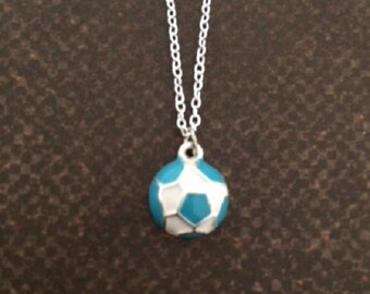 Soccer Gifts - Soccer Girl - Soccer Gifts for Girls - Soccer Necklace - Soccer Jewelry - Soccer Ball Necklace - Soccer Team - Sports Jewelry