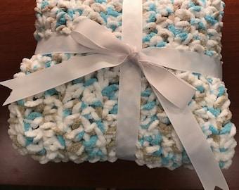 Crochete baby blanket