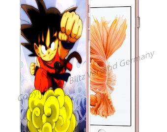 DRAGONBALL Z Smartphone transparent TPU Case with motif fit for Smartphone models Huawei iphone SAMSUNG Cartoon Comic M5