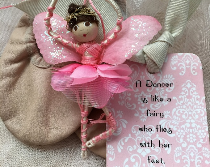 Dance Recital Fairy with tag