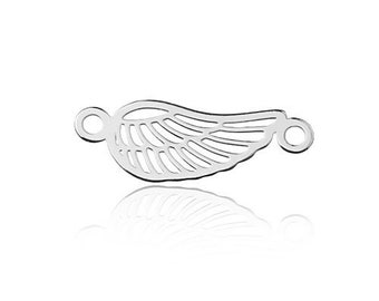 Connector Wing Sterling Silver 925