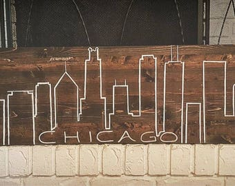 City Scape wall decorr