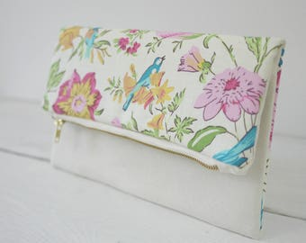 Multicolor flower purse | multicolor flower clutch | multicolor wedding purse