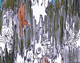 Elsewhere (8x10) original art prints