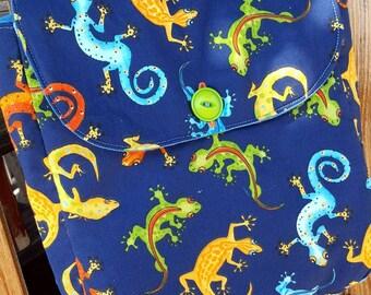 Lizard Backpack, Boys Backpack, Toddler Backpack, Preschool Backpack
