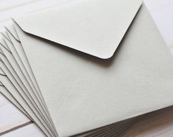 Items similar to mini envelopes green apple set of 10 gift mini envelopes gray set of 10 gift card envelope reheart Choice Image