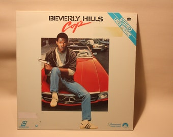 "Vintage Laserdisc Movie ""Beverly Hills Cop"""