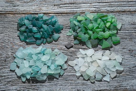 Tiny Coloured Sea Glass Bulk Small Sea Glass Vase Filler Sea