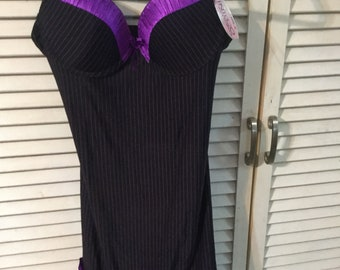 Camisole lingerie with thong