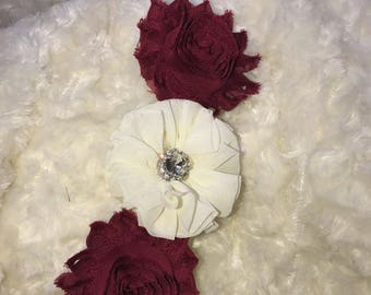 Shabby Chic Newborn Headband