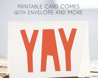 kids printable birthday card, digital card, download card, kids birthday, bday cardfor child