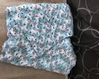 Crochet Broomstick Baby Blanket