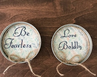 Fearless Love Kitchen Magnets