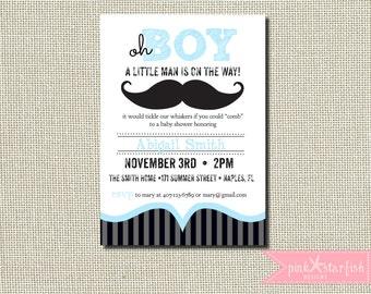 Mustache baby shower invitation etsy boys baby shower invitation baby shower invitation mustache invitation bow tie little man printable invitation baby shower sprinkle filmwisefo