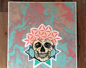 Sacred (Yin Yang) Skull