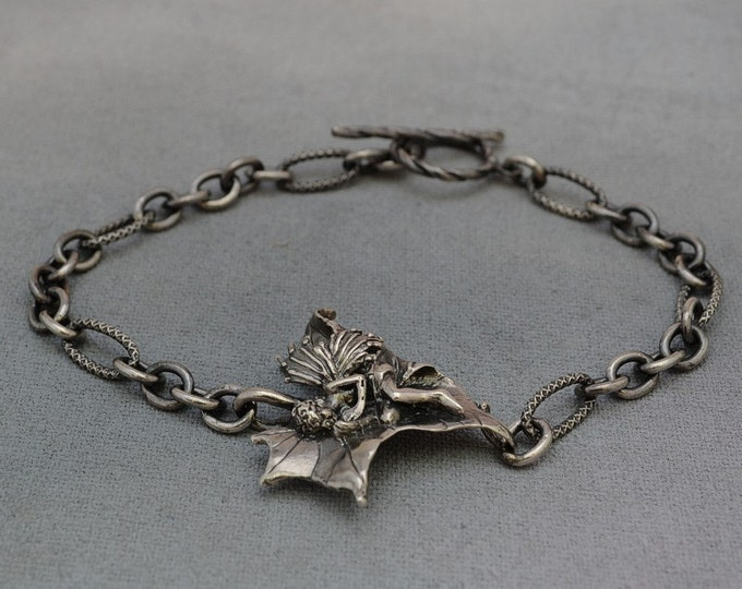Sterling Silver Faerie Bracelet, Sycamore Faerie