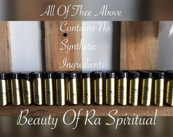 Beauty Of Ra  Conjure Oils