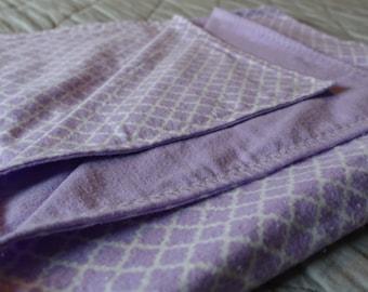 Baby Blanket - Purple Flannel