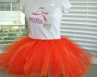 Fireball (Orange & Red) Tutu