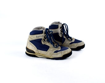 VASQUE Blue and Grey Hiking Boots, Women's Size 7 M