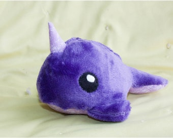 Narwhal, stuffed animal, plushie, toy, ocean, snuggle toy