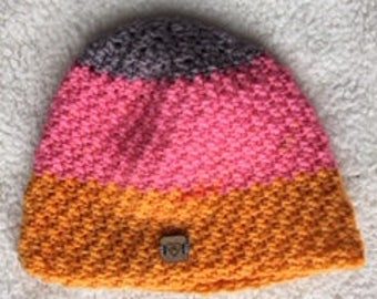 Striped Beanie toque