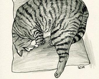 Cat original drawing - P003November2015