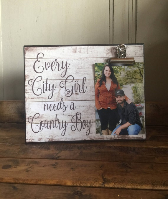 Best Wedding Gift For Girl: Every City Girl Needs A Country Boy Wedding Gift Anniversary