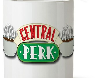 Central Perk Cafe - The place where Friends meet - Ceramic Mug Cup - 320ml