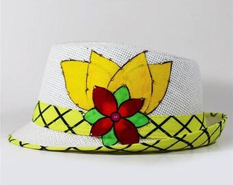 Paruma Decorated Fedora Hat