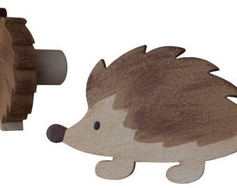 Woodland Hedgehog Drawer Knob - Hedgehog Drawer Pull