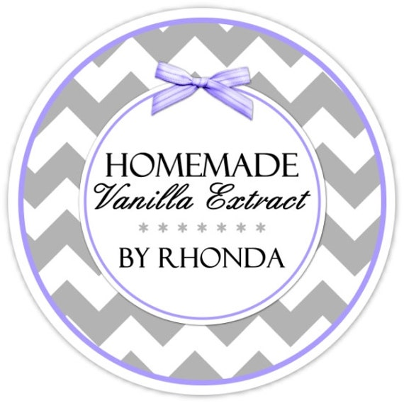 custom vanilla labels or canning labels made for you